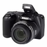 Câmera Digital Nikon Coolpix L-340 Novo Original