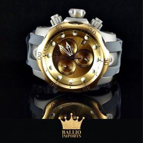 Relógio Invicta Venom Reserve 16986 Banhado A Ouro 18k