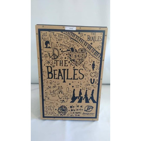 Cajon Jaguar Acustico Compact 004 The Beatles Nota Fiscal