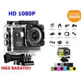 Camara Deportiva Sport Cam 720p Sumergible 1080p Hd 30 Mts