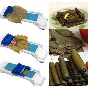 Maquina De Sushi Rollos Con Hojas De Parra Repollo O Lechuga