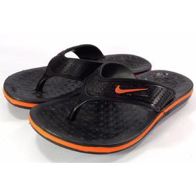 Chinelo De Dedo Nike Masculino Preto/azul Promoção Relâmpago
