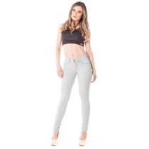 Calça Jeans Feminina Cigarrete Gold Média Skinny - Luster
