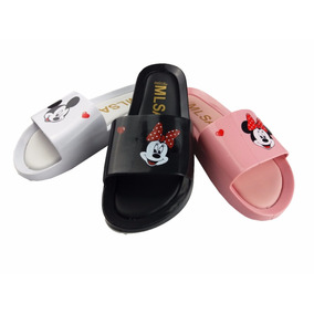 Chinelo Melissa Beach Slide Mickey Minnie 50%original