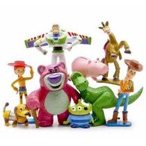 Toy Story Woody Buzz Jessie Aliens Lotso Bala No Alvo Slink