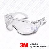 Óculos Segurança Epi 3m Vision 2000 Anti Riscos Incolor