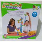Juguete Tubitobogan Con Canicas 45 Piezas Didáctico Niños