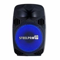 Bafle 4d 15 Con Luz Steelpro