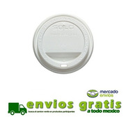 Tapa Blanca Para Vaso De Cafe 8 Oz C/1000 Pz