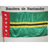 Bandera De Santander (tamaño 90x160cm) En Material Satin