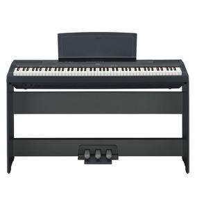 Piano Yamaha P115 + Suporte L85 + Pedal Lp5a | C/ Fonte