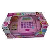 Juguete Caja Registradora Infantil Con Sonido Y Accesorios