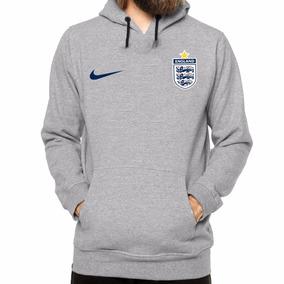 Blusa Moletom Inglaterra Casaco Canguru Promoção Futebol Top