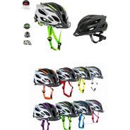 Casco Ciclismo Ontrail Armor Para Mtb-ruta Luz Led Trasera
