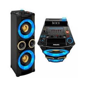 Mini System Philips Nitro 500 Watts Rms Cd Usb Bluetooth