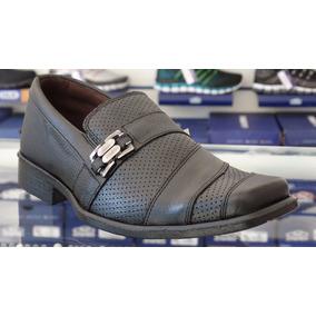 Sapato Social Masculino Couro D