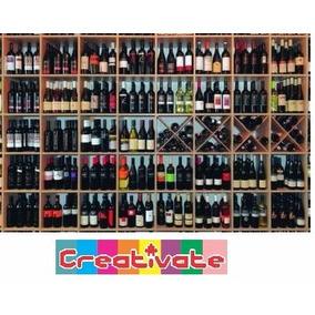 Rompecabezas Estanteria De Vinos 1000 Piezas