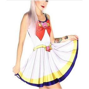 Sailor Moon - Vestido Unitalla Sailor Mars Jupiter