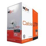 Rollo Cable De Red Utp Categoria 5e Cat 5e 305 Metros