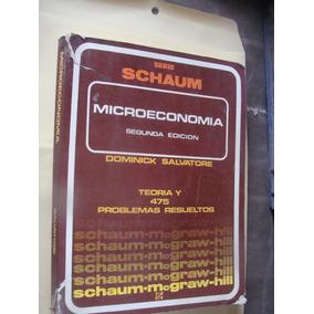 Libro Serie Schaum , Microeconomia , Dominick Salvatore ,
