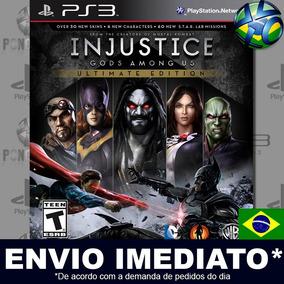 Ps3 Injustice Gods Among Us Ultimate Edition - Mídia Digital
