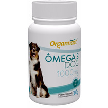 Omega 3 Dog 1000 Organnact Frasco - 30 G Pet Shop Store