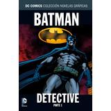 Batman Detective Tomo 1 Y 2 / Paul Dini (nuevos) Salvat