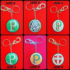 03 Chaveiros Face Dupla Sociedade Esportiva Palmeiras Time