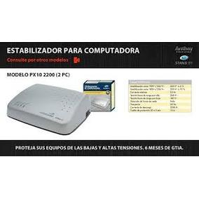 Estabilizador Anthay Para Computadora 4 Pc 4400w
