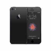 Skin Negro Mate Apple Iphone 5s & Se Venom Armor Vlk