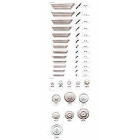 Molduras Decorativas At40 X Ml