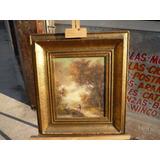 Jules Dupre Firmado Oleo Cuadro Original Pintor Frances