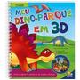 Leia, Monte E Brinque! Meu Dino-parque Em 3d