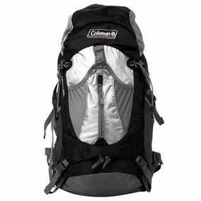 Mochila Campismo Backpack Llaima Negra De 40 Litros Coleman