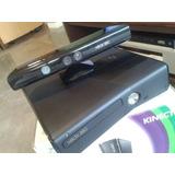 Xbox 360 Completo, 4 Controles,kinect,desbloqueado P/ Hd