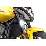 Farol Auxiliar Milha Led Moto Honda Cb 600f Hornet 2012-2014