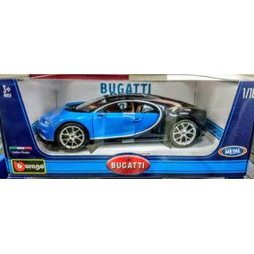 Burago - Bugatti Chiron (2017) - Escala 1:18 - Metal