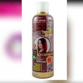 Champ. Keramaxin Bomba De Keratina Chocolate Sin Sal