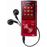 Mp4 Walkman Vermelho 4gb Fm - Sony Nw-e393