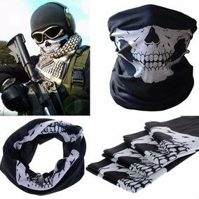 Máscara Bufanda Para Motociclista Esqueleto Envio Incluido