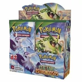Box Cards Pokémon Céus Estrondosos Com 36 Boosters