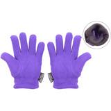 Body Strenth Kids Polar Fleece Gloves Winter Warm Purple. 4ce96759746