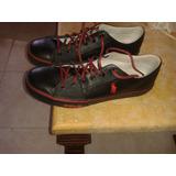 Zapatos Polo Ralph Lauren De Cuero Talla 42