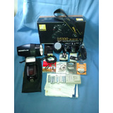 Cámara Nikon D5100, Trípode, Flashes, Filtros, Disp Y Zapat