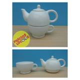 Tea For One Ceramica Juego De Te Individual