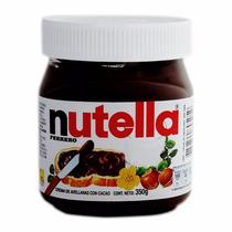 12 Nutella Ferrero Avellanas Cacao Frasco Grande X350 Gr