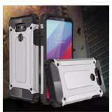 Case Protector Cover Funda Tough Armor Tech Plateado Lg G6