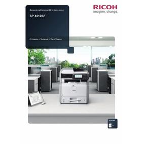 Multifuncional Ricoh Sp 4510sf - Semi Nova Revisada