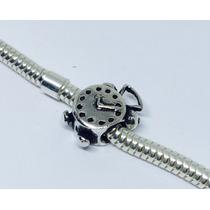 Berloque Relógio Em Prata 925 - 001
