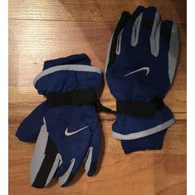 Padrisimos Guantes Nike Azul Gris Negro 100% Originales!!